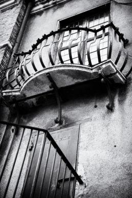 Een balkon in de Engelenburg Rome - Creative own Work - Diana van Neck - Fotograaf Zutphen