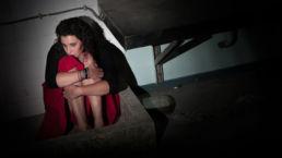 Bange vrouw - Creative own Work - Diana van Neck - Fotograaf Zutphen